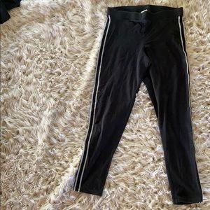 Victoria's Secret pink black leggings!